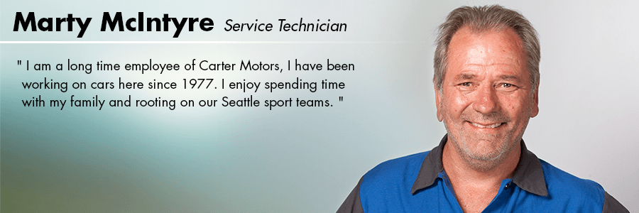 Marty McIntyre - Service Technician at Carter Subaru  Ballard in Seattle, WA