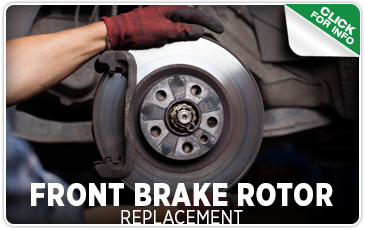 Click to view our front brake rotor replacement service serving Seattle, WA