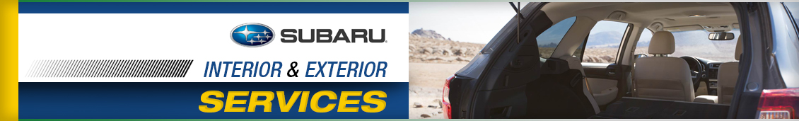 Subaru Interior & Exterior Service Information in Seattle, WA