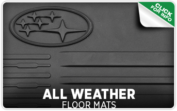 Learn more about Subaru all-weather floor mats from Carter Subaru Ballard in Seattle, WA