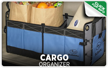 Click to learn more about our Subaru cargo organizer in Seattle, WA