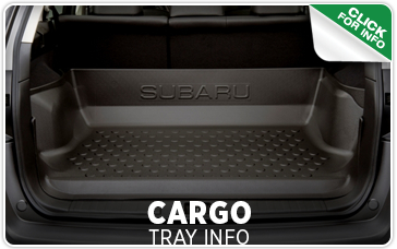 Click to learn more about our Subaru cargo tray in Seattle, WA