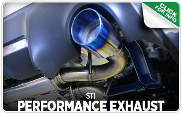 Click to browse our STI Performance Exhaust performance parts information at Carter Subaru Ballard