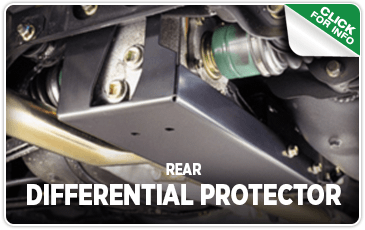 Click to research our rear differential protector performance parts information at Carter Subaru of Ballard