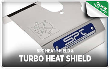 Click to research our SPT Heat Shield performance parts information at Carter Subaru of Ballard