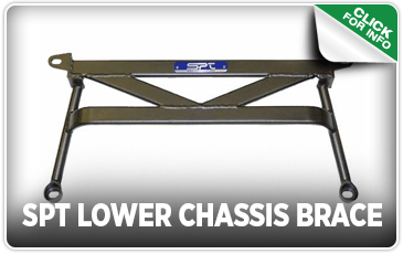 Click to browse our SPT Lower Chassis Brace performance parts information at Carter Subaru Ballard