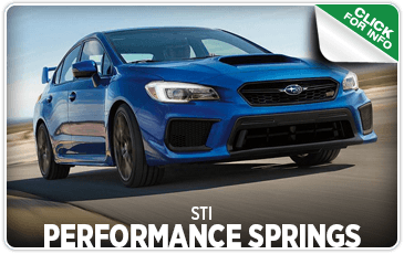 Browse our STI Performance Springs information at Carter Subaru Ballard in Seattle, WA