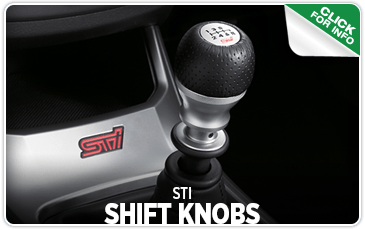 Browse our STI Shift Knobs information at Carter Subaru Ballard in Seattle, WA