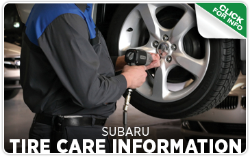 Click to get answers to Subaru tire care FAQs in Seattle, WA