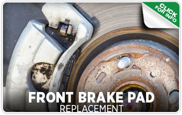 Click to learn about our Subaru front brake pad replacement service in Seattle, WA