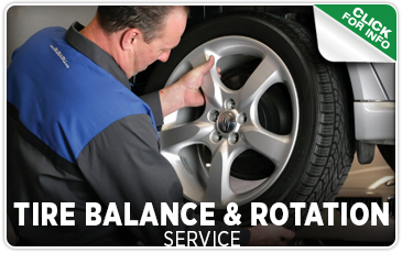 Click to view our Subaru tire balance & rotation service in Seattle, WA