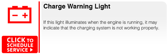 Subaru Charge Warning Light