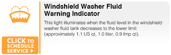 Subaru Windshield Washer Fluid