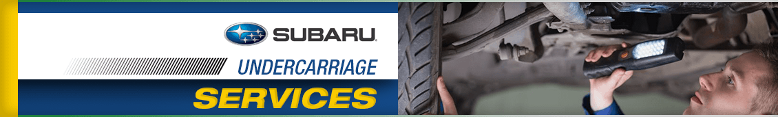 Subaru Undercarriage Service Information in Seattle, WA
