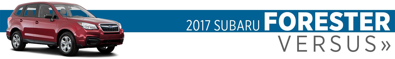 2017 Subaru Forester Model Comparisons in Seattle, WA