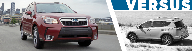 Carter Subaru Ballardu0027s 2016 Subaru Forester Vs 2016 Toyota RAV4  Competitive Comparison Serving Seattle, WA