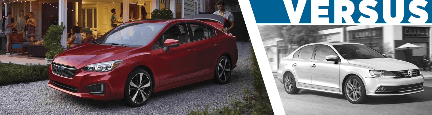 Compare The 2018 Subaru Impreza vs 2018 Volkswagen Jetta Models