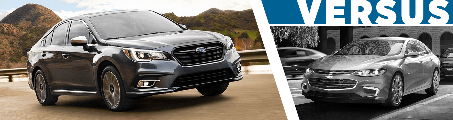 Compare The 2018 Subaru Legacy vs 2018 Chevrolet Malibu Models