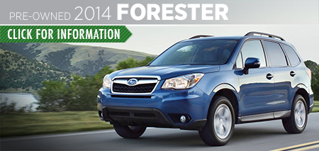 Learn more about the Certified Pre-Owned 2014 Subaru Forester available at Carter Subaru Ballard in Seattle, WA