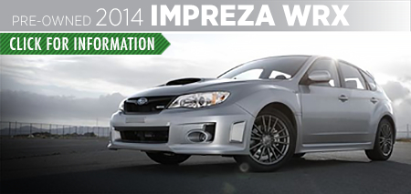 Learn more about the Certified Pre-Owned 2014 Subaru Impreza WRX Carter Subaru Ballard in Seattle, WA