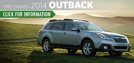 Learn more about the Certified Pre-Owned 2014 Subaru Outback available at Carter Subaru Ballard in Seattle, WA