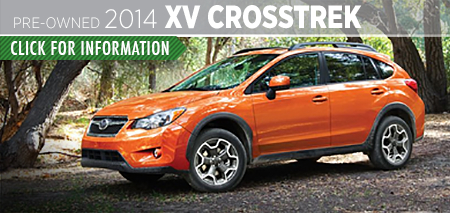 Learn more about the Certified Pre-Owned 2014 Subaru XV Crosstrek Carter Subaru Ballard in Seattle, WA