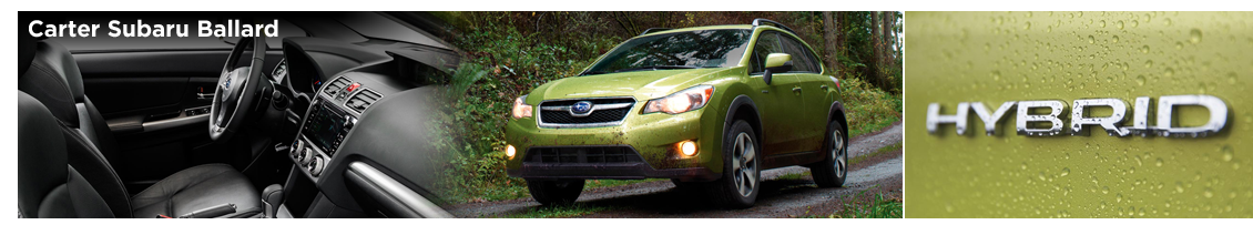 2015 Subaru XV Crosstrek Hybrid Model Information