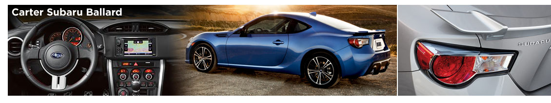 2016 Subaru BRZ Features & Details