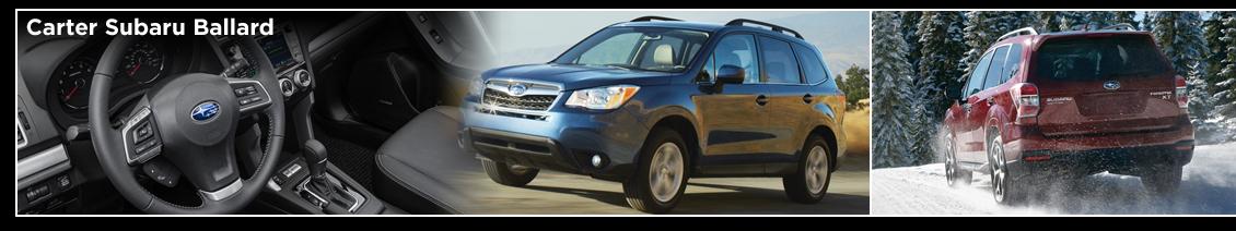 2016 Subaru Forester Model Information