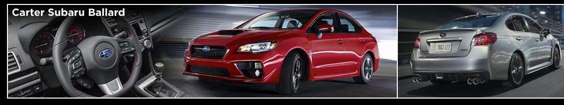 2016 Subaru WRX Model Information