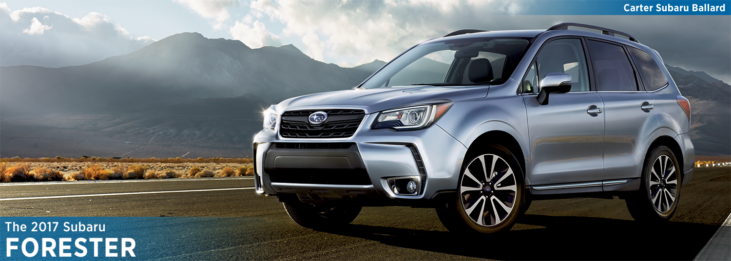 2017 Subaru Forester Model Details and Specifications