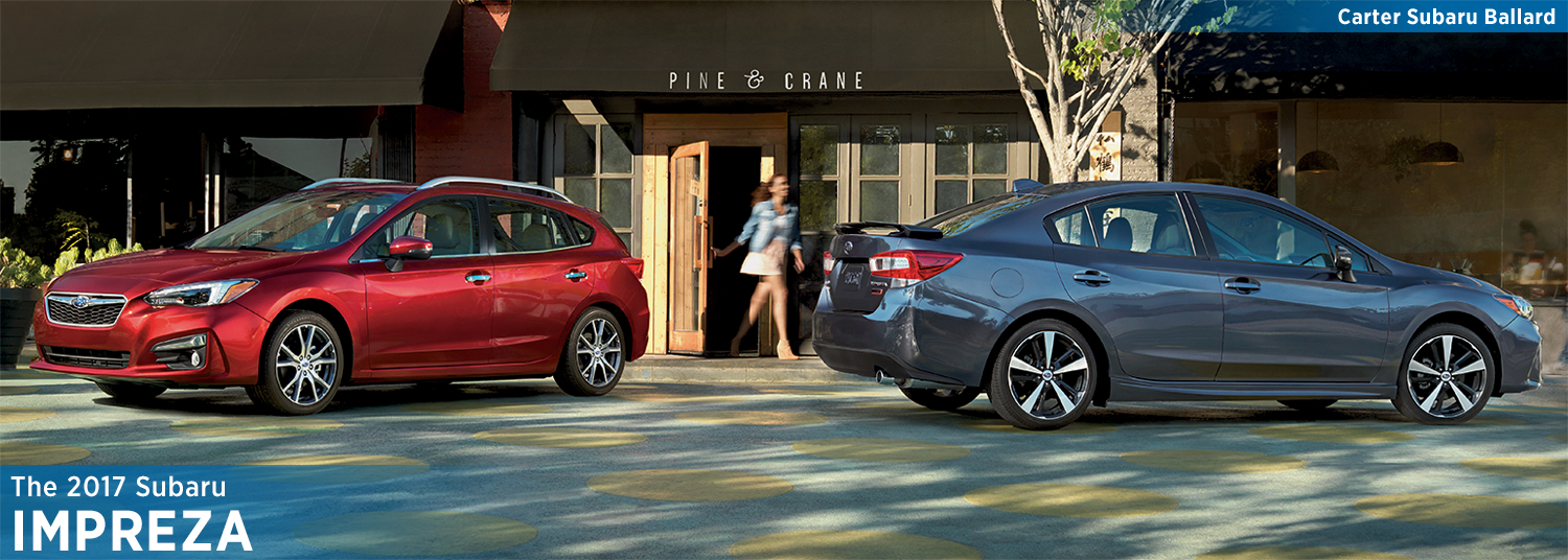 Research the all-new 2017 Subaru Impreza model in Seattle, WA