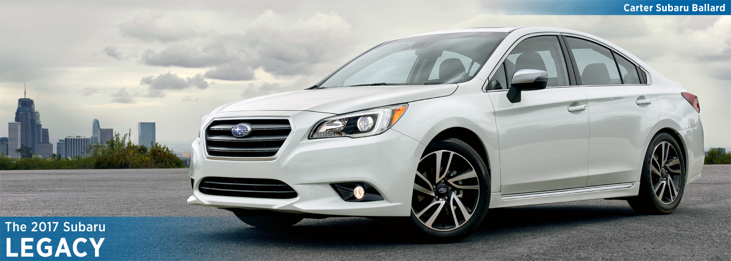 2017 Subaru Legacy Model Information and Specs