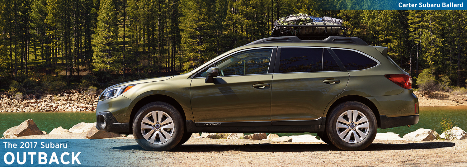 2017 Subaru Outback Model Information and Specs