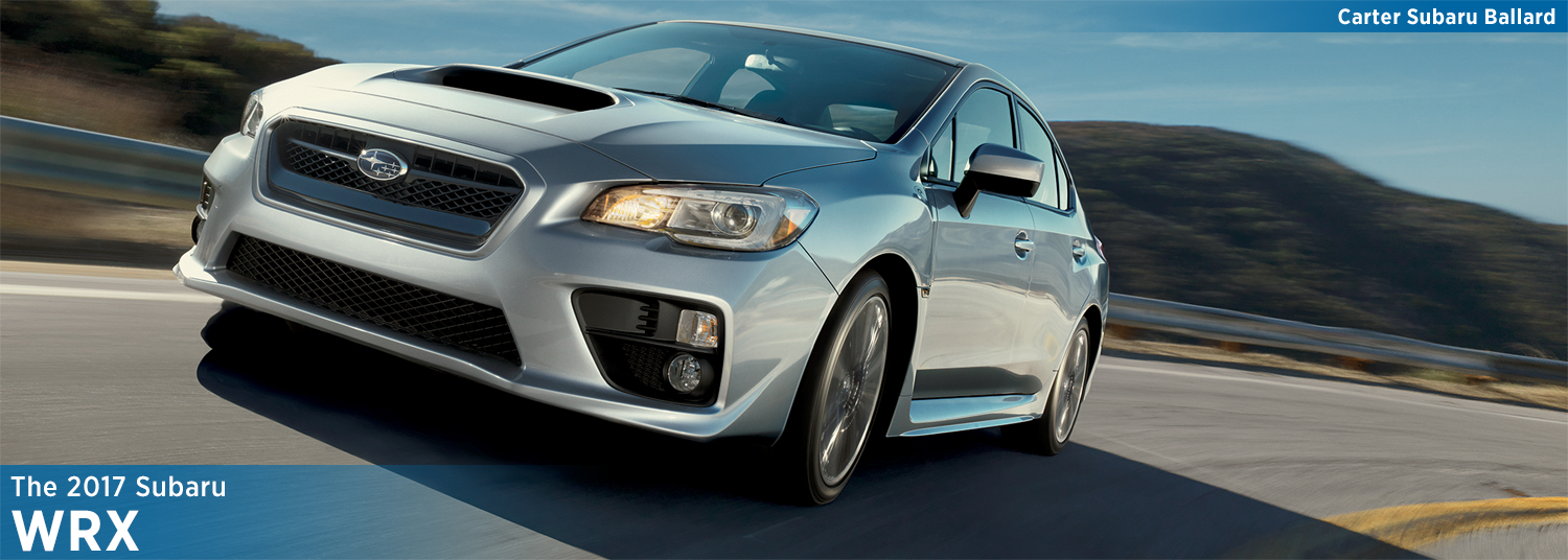 2017 Subaru WRX Model Specifications and Information