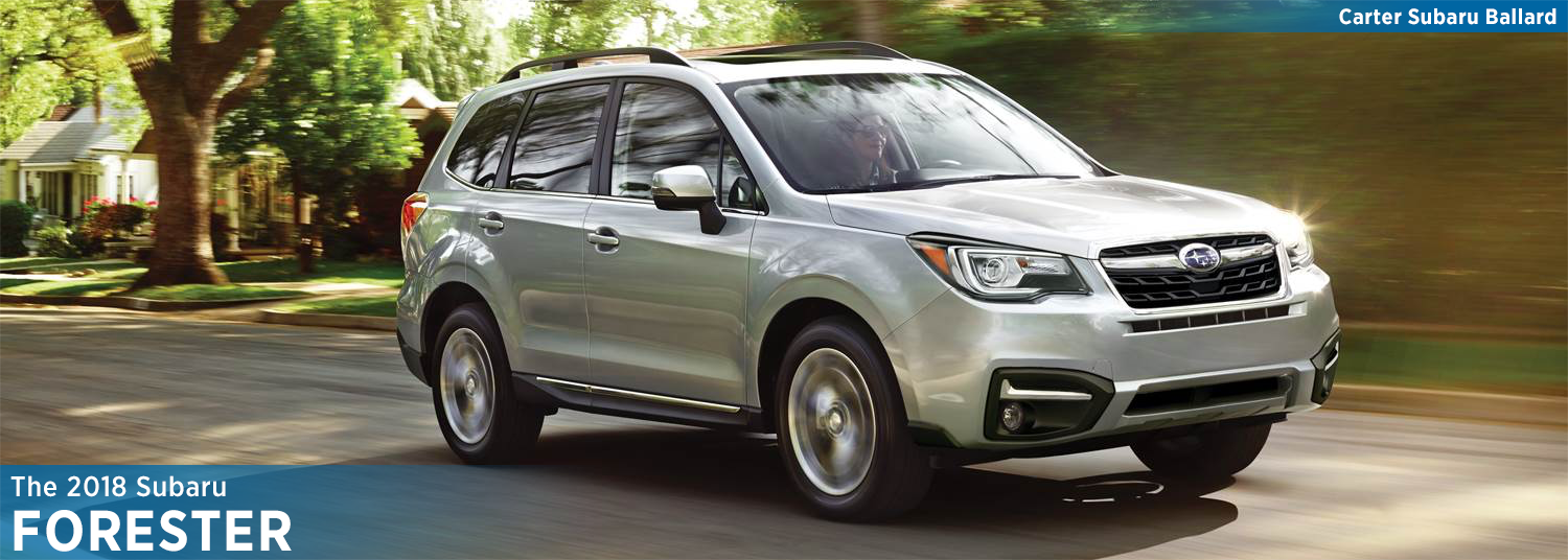 2018 Subaru Forester Model Features & Details in Seattle, WA