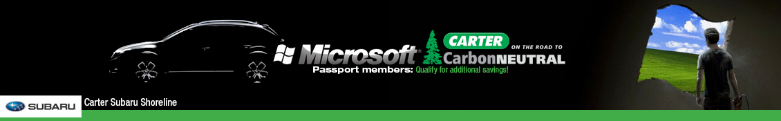 Microsoft Passport Members Special Savings on Subaru Vehicles Seattle, Washington