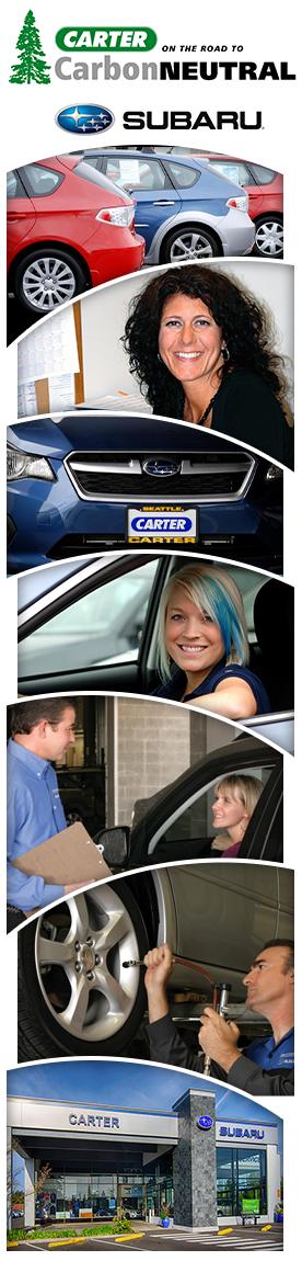 Carter Subaru Shoreline Service