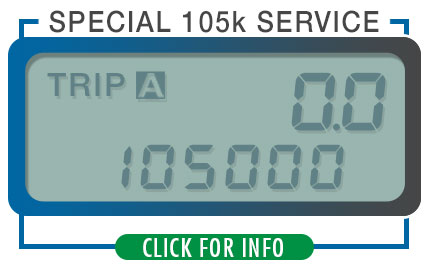 Subaru Recommended Special Service at 105,000 Miles