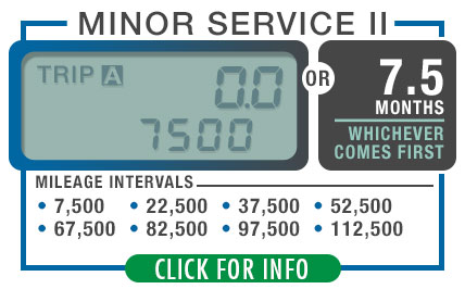 Subaru Recommended Minor Maintenance 2 | Every 7500 Miles or 7.5 Months