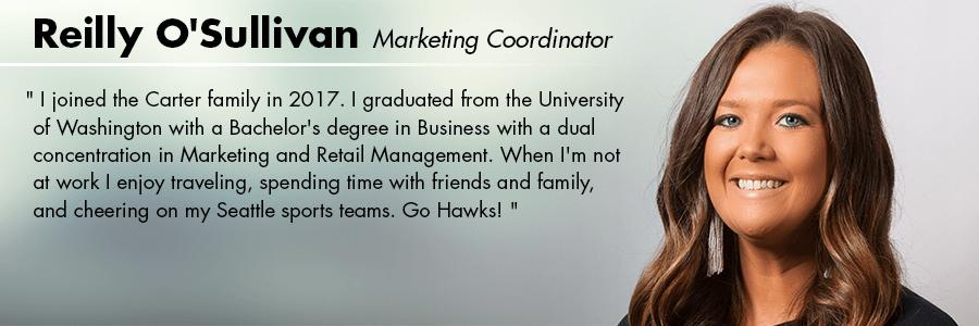 Reilly O'Sullivan : Marketing Coordinator at Carter Subaru Shoreline in Seattle, WA