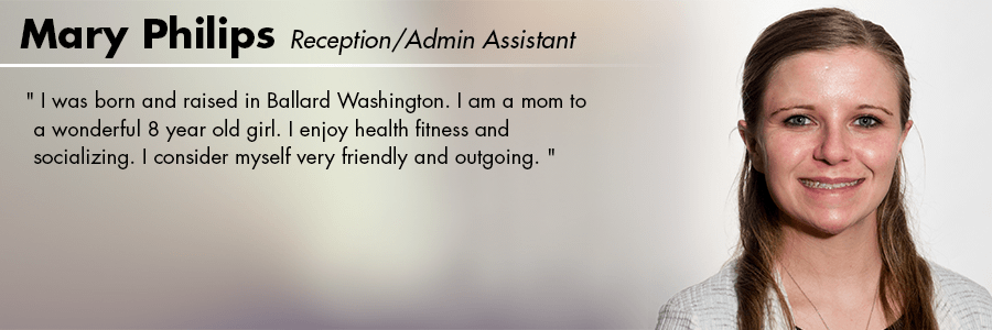 Mary Philips, Reception/Admin Assistant at Carter Subaru Shoreline in Seattle, WA
