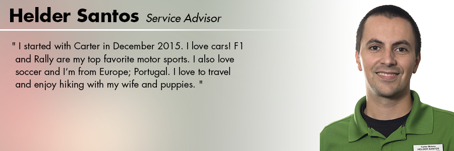 Helder Santos  : Service Advisor at Carter Subaru Shoreline in Seattle, WA
