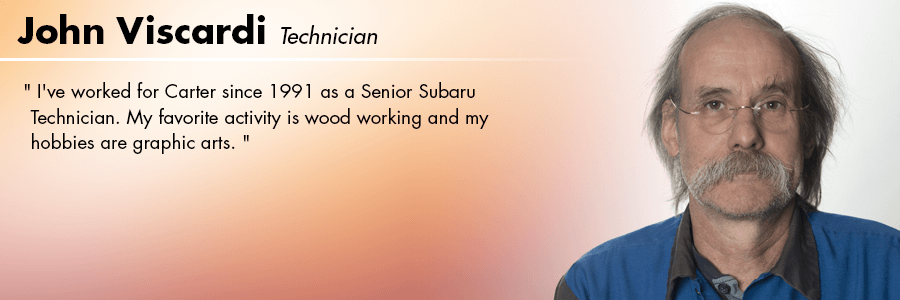 John Viscardi, Technician at Carter Subaru Shoreline in Seattle, WA