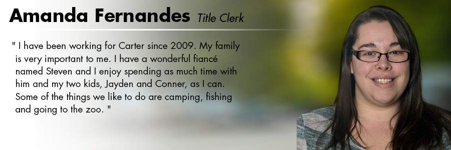 Amanda Fernandez, Title Clerk at Carter Subaru Shoreline in Seattle, WA