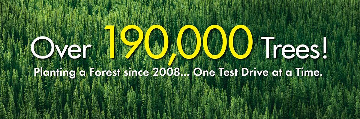Over 190,000 Trees Planted by Carter Subaru Shoreline