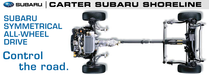 Subaru All-Wheel Drive System Seattle, Washington