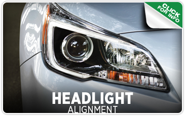 Click to view our headlight alignment service in Seattle, WA