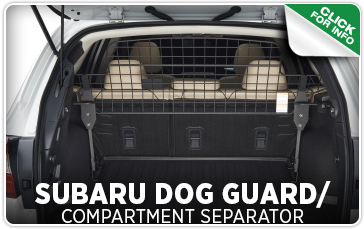 Click here to learn more about genuine Subaru dog guard and compartment separators in Seattle, WA
