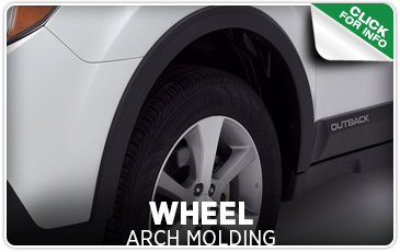 Click to view our Subaru wheel arch molding kit information in Seattle, WA